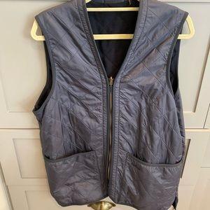 Barbour Polarquilt Waistcoat/Zip in liner